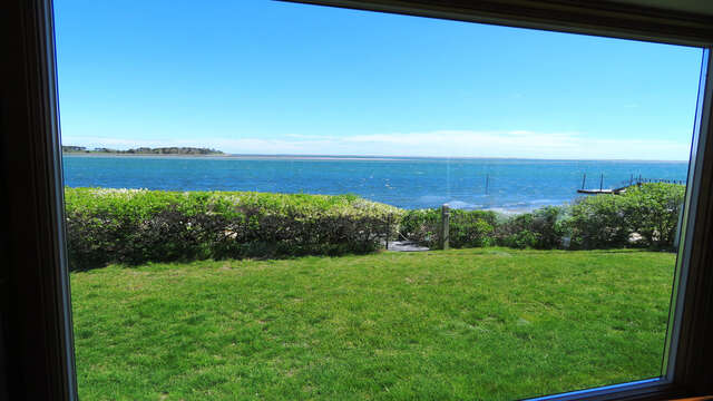 Take the view in from the window seat - 299 Cranberry Lane North Chatham Cape Cod New England Vacation Rentals