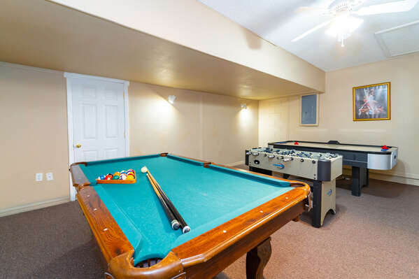 Alternative view of games room
