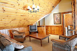 The loft features a television and DVD player so make sure to bring plenty of movies for the kids.
