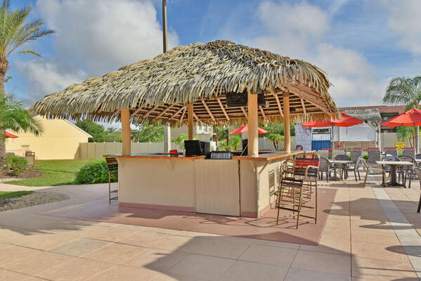 On-site facilities:- Tiki bar