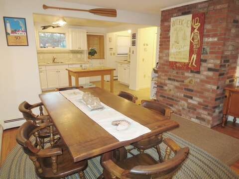 Gather here for a family meal  - 156 Beach Plum Lane Brewster Cape Cod New England Vacation Rentals