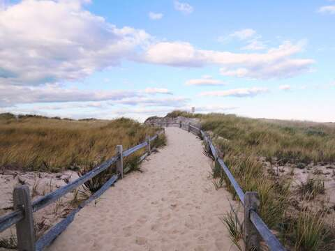 Welcome to Crosby Beach in Brewster-just a short drive from the house. - Brewster Cape Cod New England Vacation Rentals