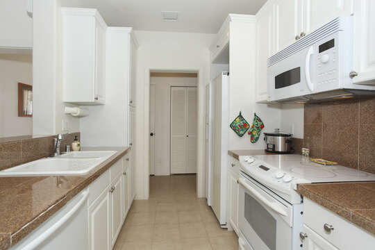 Spacious Kitchen in Our Ko Olina Resort Vacation Rental.