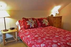 Sleeping Loft with Queen Bed