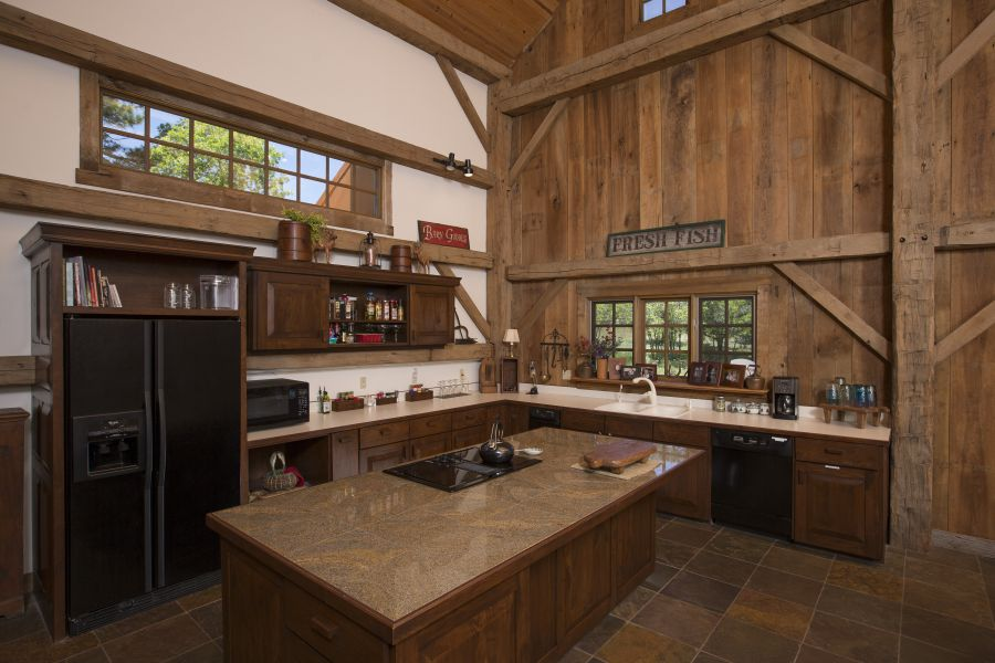 Kitchen stocked with everything you need to cook a gourmet meal