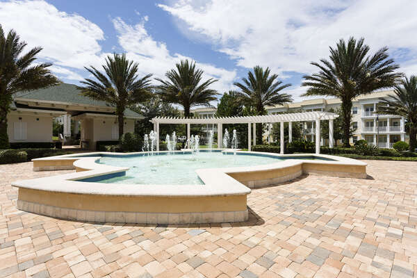 Terraces Fountain