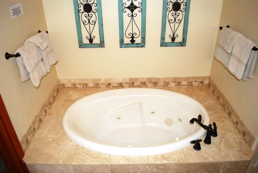 Mast bathroom tub is perfect for relaxing