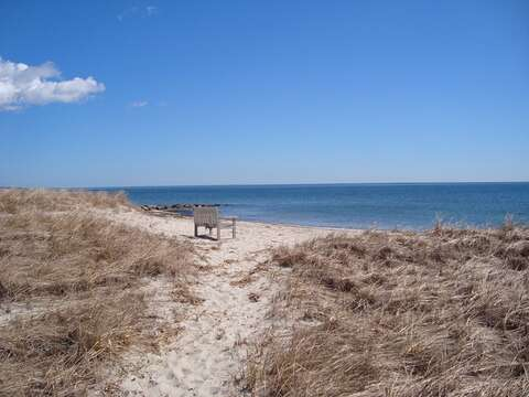 The beach at the end of the street connects to Red River Beach - Harwich Port Cape Cod New England Vacation Rentals