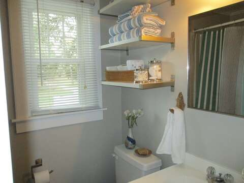 Full Bath off hall-767 Route 28 #5 Harwich Port Cape Cod New England Vacation Rentals