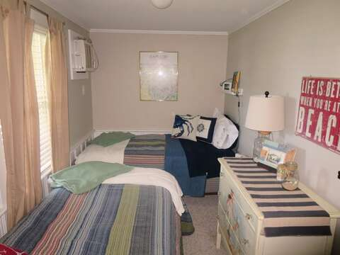 Bedroom 2 with 2 Twin beds-767 Route 28 #5 Harwich Port Cape Cod New England Vacation Rentals