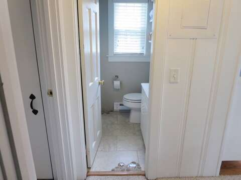 Entry to bath off hall-767 Route 28 #5 Harwich Port Cape Cod New England Vacation Rentals