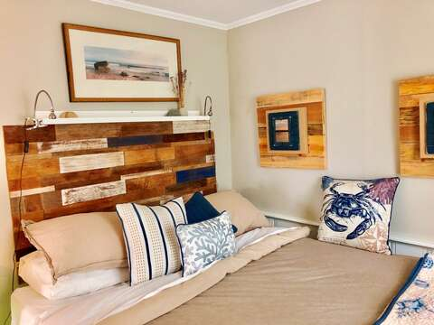 Another view of Bedroom 1 with Queen Bed-767 Route 28 #5 Harwich Port Cape Cod New England Vacation Rentals