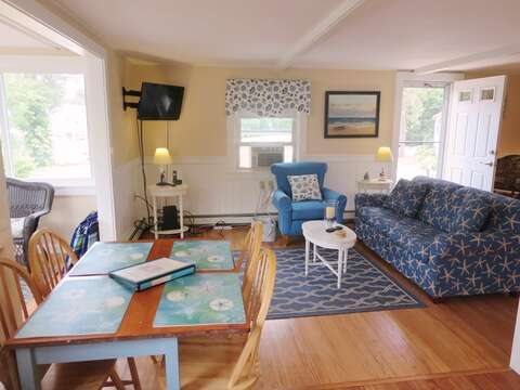 A/C units in main living area and bedrooms keep the cottage nice and cool. - 13 Garden Lane Dennisport Cape Cod New England Vacation Rentals