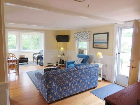 Welcome to your home away from home!Flat screen TV and WiFi - 13 Garden Lane Dennisport Cape Cod New England Vacation Rentals