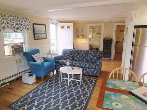 Coastal, seaside cottage with sleeper sofa (Double). - 13 Garden Lane Dennisport Cape Cod New England Vacation Rentals