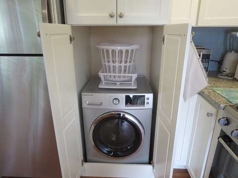 Convenient washer/Dryer in one unit! - 13 Garden Lane Dennisport Cape Cod New England Vacation Rentals