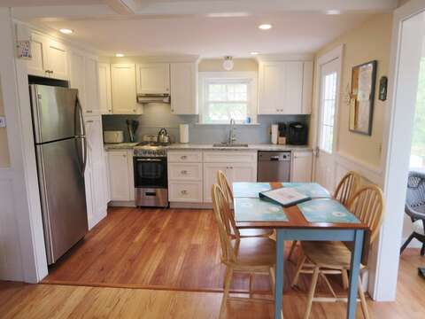 Dining for 4-6 (2 additional chairs available) - 13 Garden Lane Dennisport Cape Cod New England Vacation Rentals