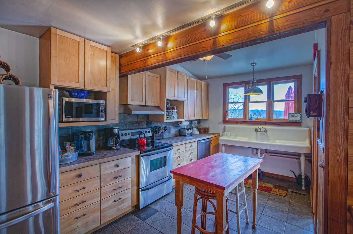 Fully Equipped Kitchen with Mop Sink