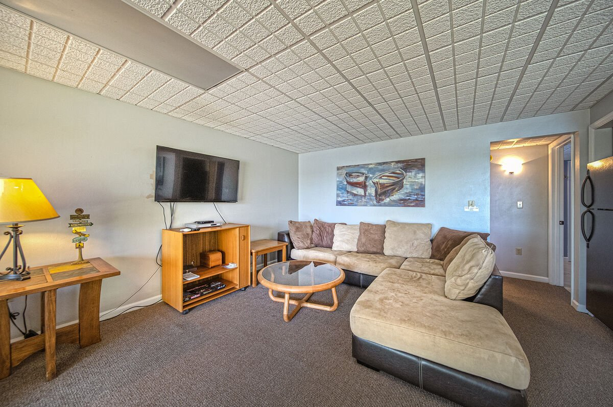 Game Room with Sectional and TV
