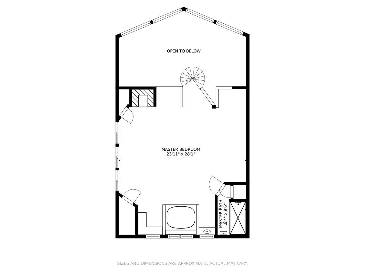 Image of Property Upper  Floor Plan.
