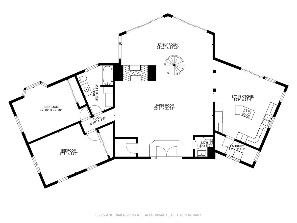 A Photo of Property Main Floor Plan.