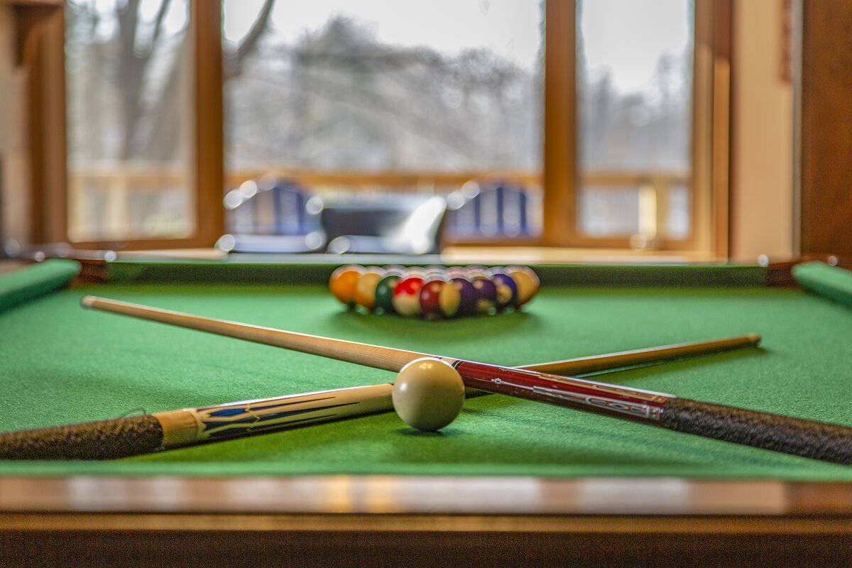 Shoot Pool While Looking at the Lake