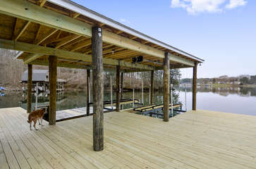 Dock and Boathouse
