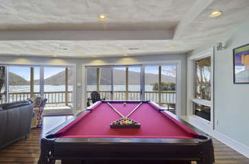 Lower Level, Pool Table
