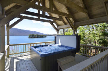 Fabulous Views from your Hot-tub
