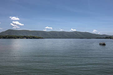 Image of Views From Cabin for Rent at Smith Mountain Lake VA.