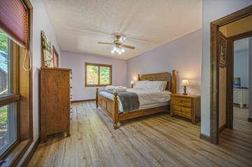 Wooden Floor in Bedroom.