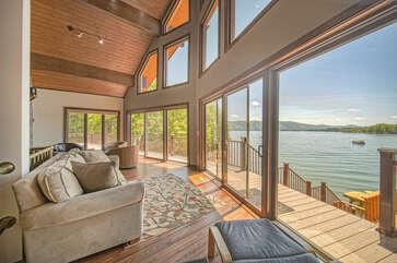 Large Windows Offer Plenty of Natural Light.