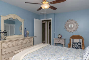 The 3rd bedroom, also on the 2nd floor, has a full bed.