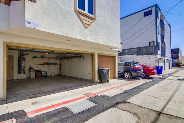 2-car side by side garage at SANFERN743