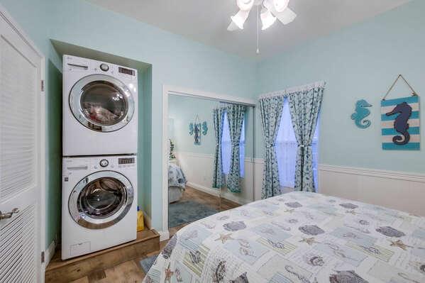 Washer/Dryer in Guest Room - Second Floor