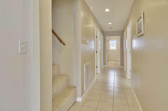 Hallway leading upstairs