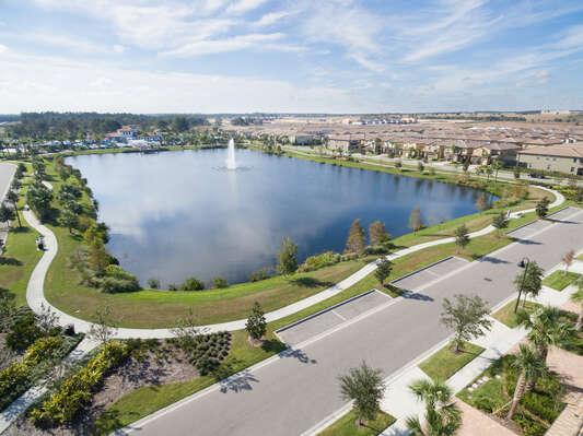 Windsor at Westside Resort Aerial