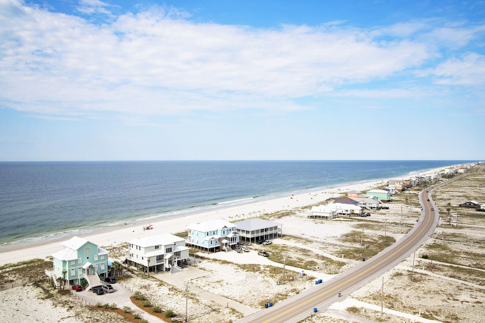 Aerial Picture of the Beach.