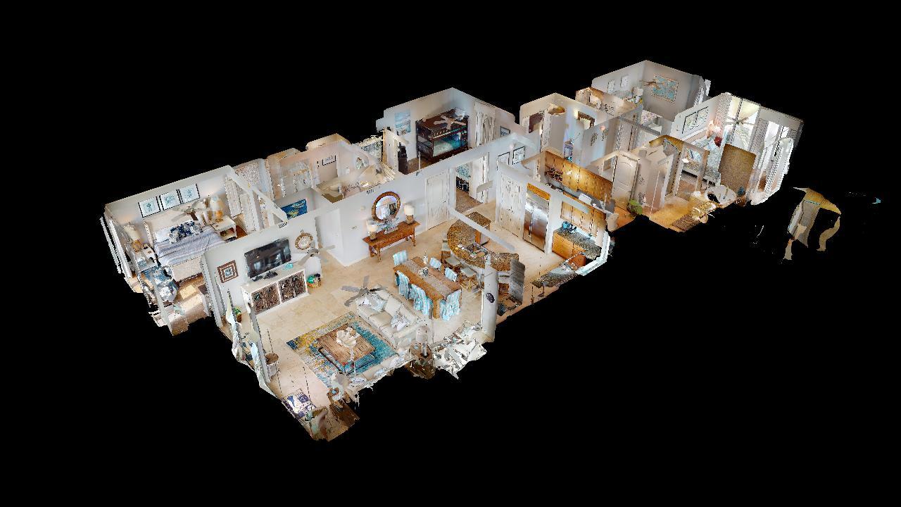 3D Model of the Interior of the Condo.