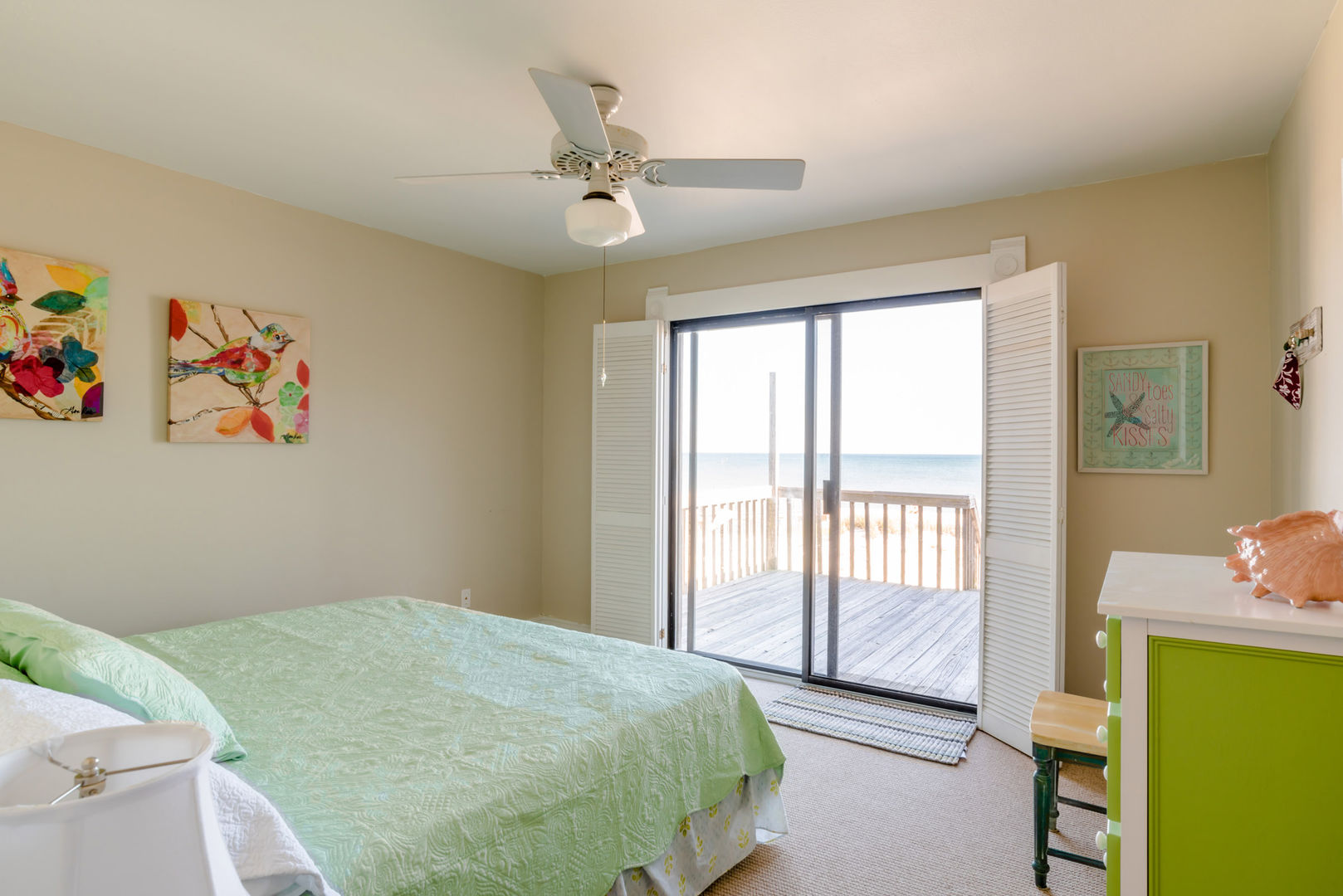 Guest Bedroom #1 With Gulf View