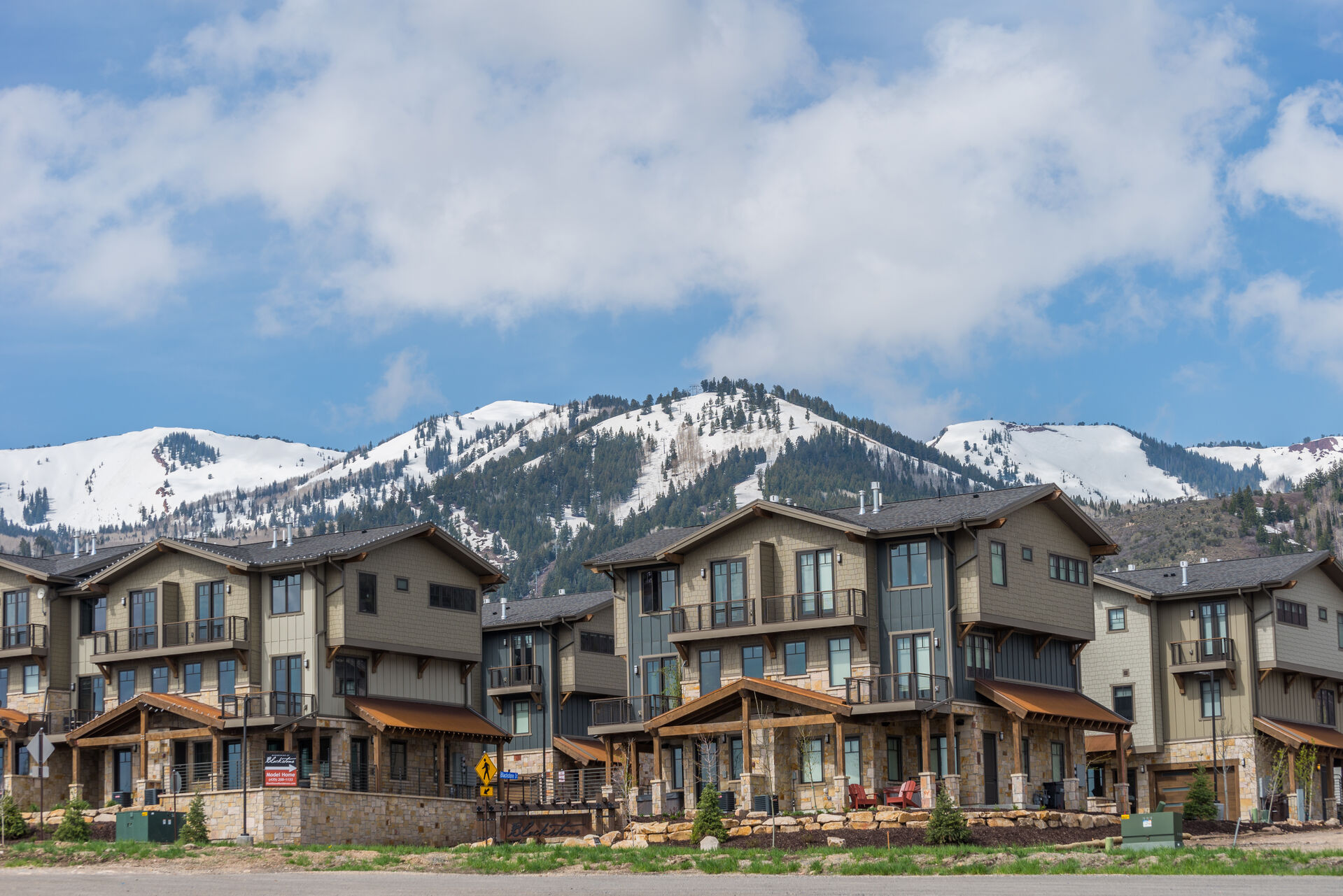 View of the Blackstone Community