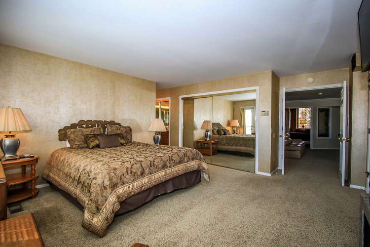 Bedroom 1: Master Suite- King Bed, Fireplace, TV/DVD, Private Bath- 2nd Level