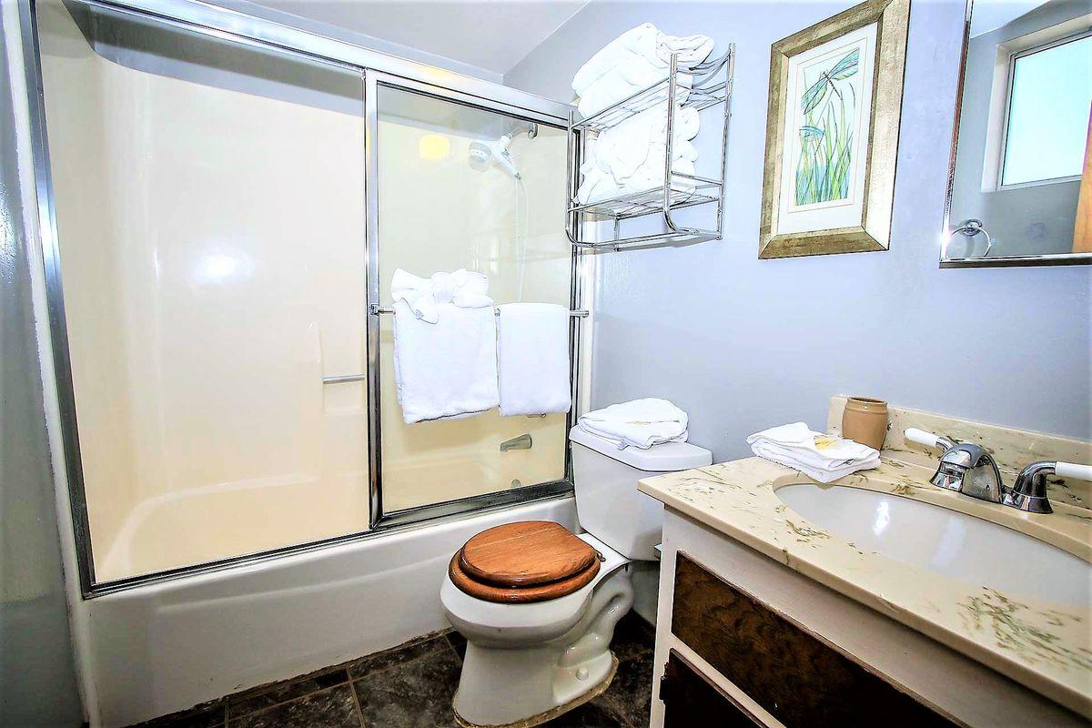 1st Level- Full Shared Hallway Bathroom
