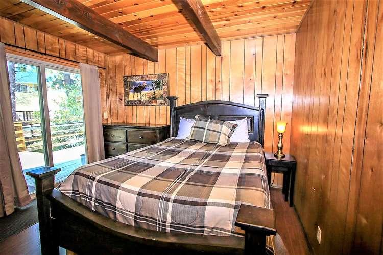 Bedroom 1- Patio Access to Spa
