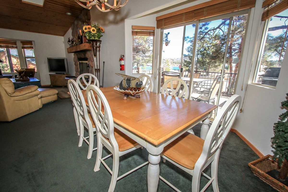 Additional Dining For Six, Deck Access