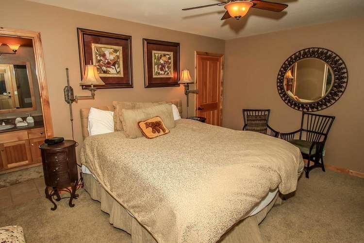 Bedroom 2- Lower Level Master Suite- King Bed