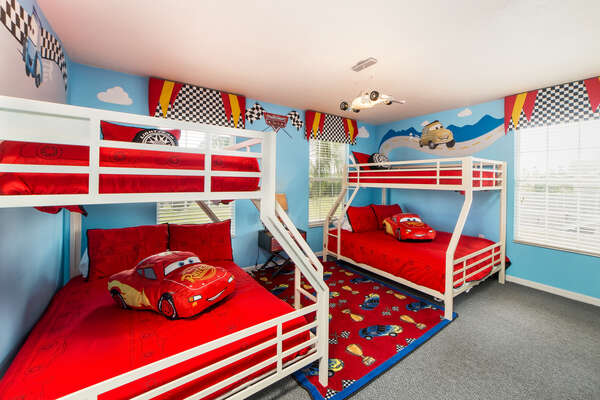 Double bunk beds for the children
