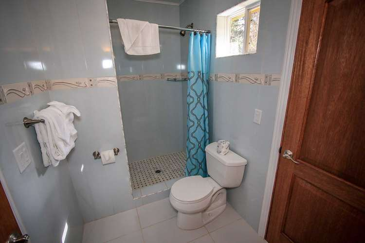 Shared 3/4 Hallway Bathroom Off Of Bedroom 5