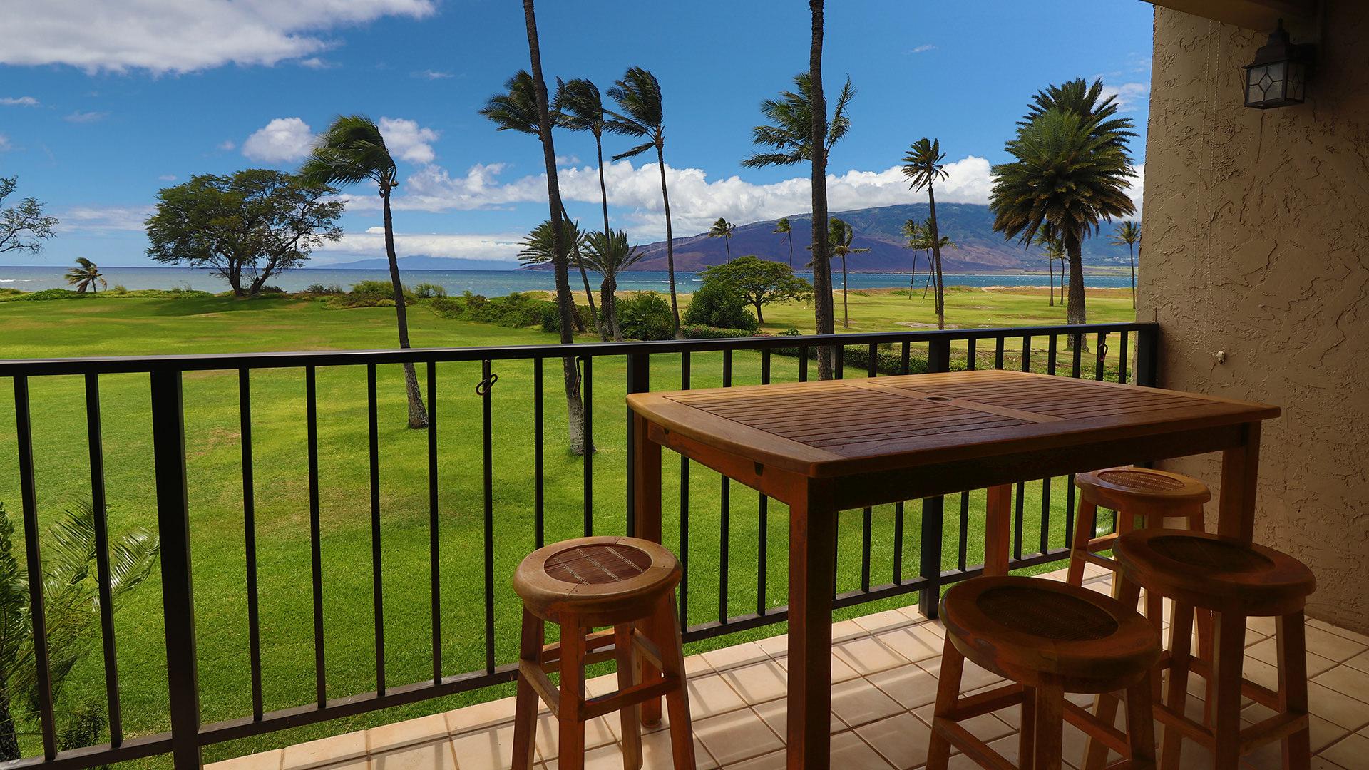 A203 View of West Maui's and Ma'alaea Bay