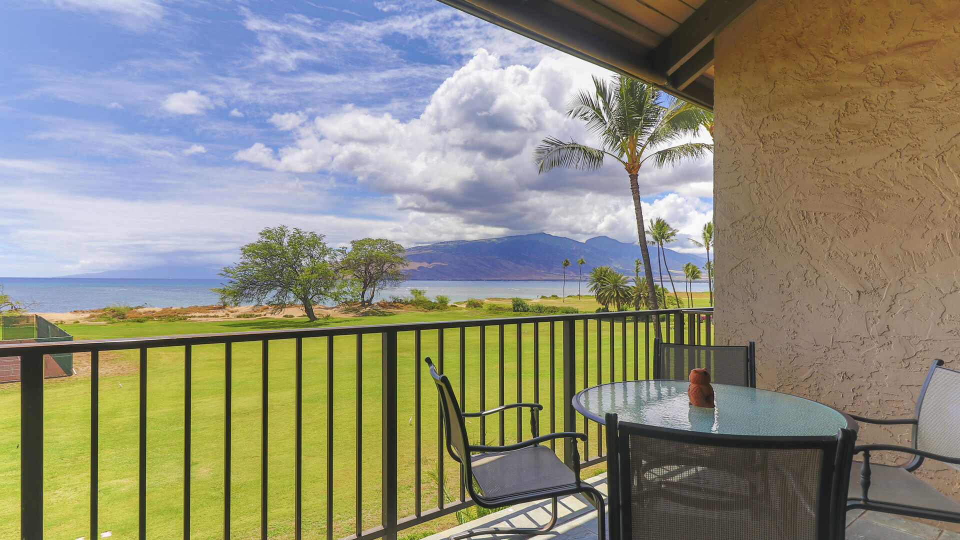 D306, view of Ocean, Maalaea and West Maui's